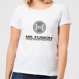 Camiseta Regreso al futuro Mr. Fusion - Mujer - Blanco