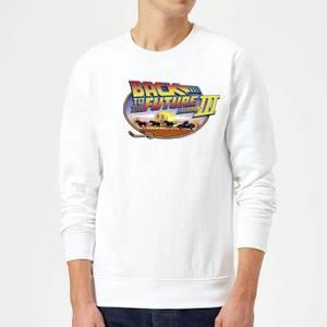 Zurück In Die Zukunft Lasso Pullover - Weiß
