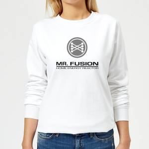 Back To The Future Mr Fusion Women's Sweatshirt - White