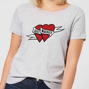 Just Married Women's T-Shirt - Grey
