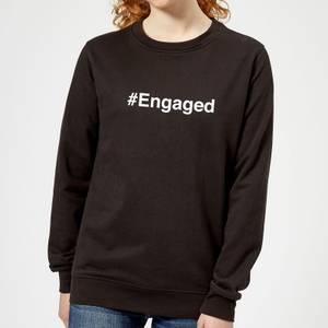 Engaged Women's Sweatshirt - Black
