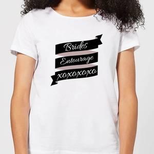 Brides Entourage Women's T-Shirt - White