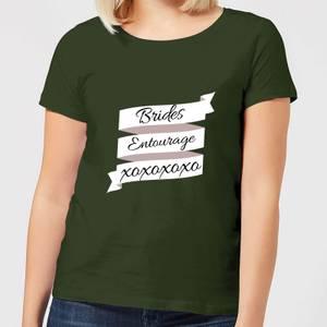 Brides Entourage Women's T-Shirt - Forest Green