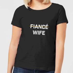 Fiance Wife Women's T-Shirt - Black
