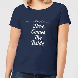 Here Comes The Bride Women's T-Shirt - Navy