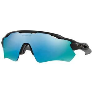 Oakley Radar EV Path Prizm Polarised Sunglasses - Matte Black/Deep Water Prizm