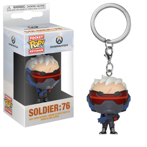 Overwatch Soldier: 76 Funko Pop! Keychain
