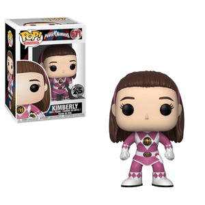 Power Rangers Pink Ranger Kimberly Figura Pop! Vinyl