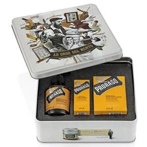 Proraso Beard Care Tin - Wood and Spice (Worth £37.50)