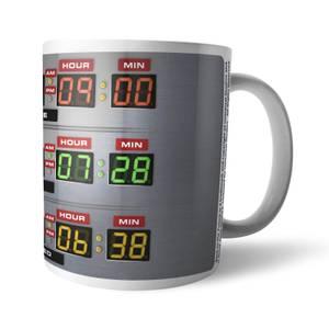 Zurück in die Zukunft Destination Time Keramik Tasse