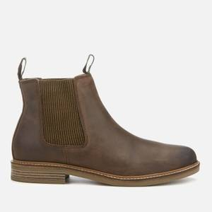Barbour Men's Farsley Leather Chelsea Boots - Choco