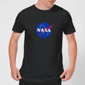 T-Shirt Homme NASA Logo Insignia - Noir