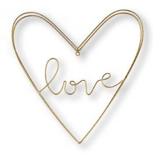Art for the Home Gold Amour Wire Wall Art