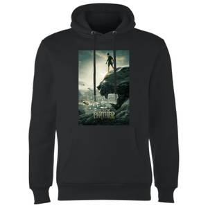 Sweat à Capuche Homme Poster - Black Panther - Noir