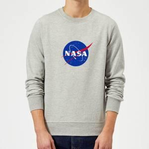 NASA Logo Insignia Sweatshirt - Grey