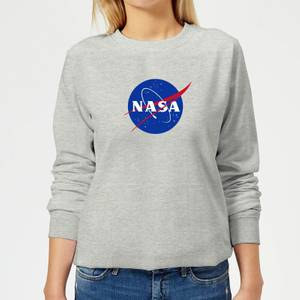 NASA Logo Insignia Women's Sweatshirt - Grey