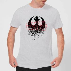 Star Wars Shattered Emblem T-Shirt - Grey