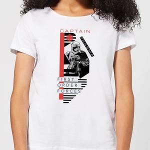 Star Wars Captain Phasma Women's T-Shirt - White