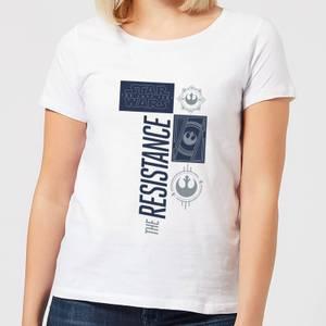 Star Wars The Resistance White Women's T-Shirt - White