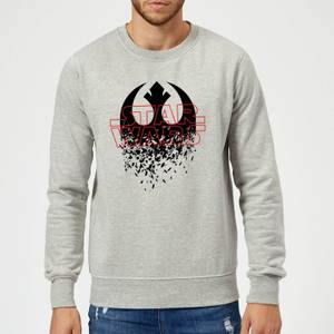 Star Wars Shattered Emblem Sweatshirt - Grey