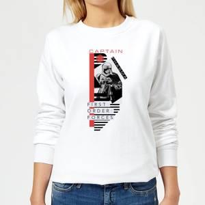 Star Wars Captain Phasma Women's Sweatshirt - White