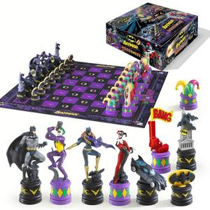 DC Comics The Dark Knight Batman Chess Set