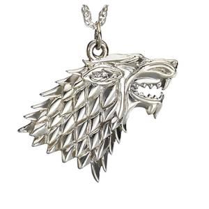 Collier Argent Maison Stark - Game of Thrones