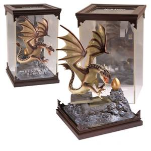 Harry Potter Magical Creatures Hungarian Horntail Sculpture
