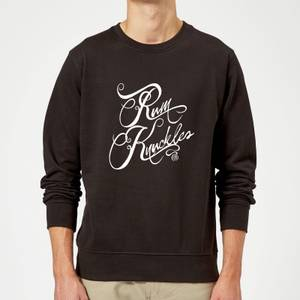 Sweat Homme Rum Knuckles Typography - Noir