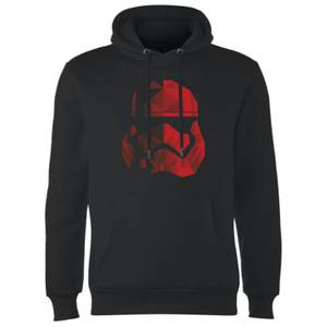 Felpa con cappuccio Star Wars Jedi Cubist Trooper Helmet Black- Nero