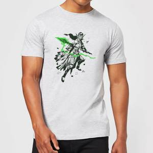 Camiseta Magic The Gathering Nissa - Hombre - Gris