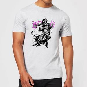 Magic The Gathering Liliana Character Art T-Shirt - Grey
