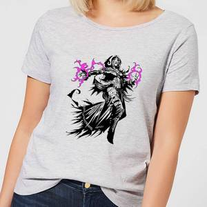 Magic The Gathering Liliana Character Art Women's T-Shirt - Grey