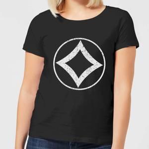 T-Shirt Femme Mana Sans Couleur - Magic : The Gathering - Noir