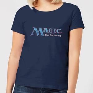 Magic The Gathering 93 Vintage Logo Women's T-Shirt - Navy