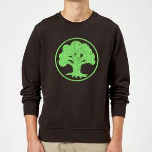 Sweat Homme Mana Vert - Magic : The Gathering - Noir