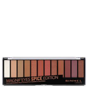 Rimmel Magnif'eyes 12 Pan Shade Palette 14 g – Spice