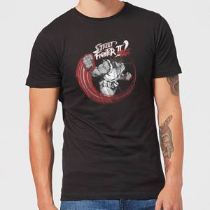 Street Fighter RYU Sketch Mens T-Shirt - Schwarz