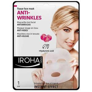 IROHA NATURE Tissue Facial Mask Q10 + Collagen
