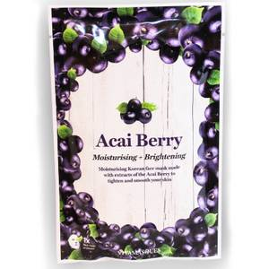 Vitamasques Acai Berry Moisturising and Brightening Face Mask