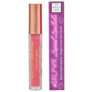 "The Beauty Crop GRLPWR Liquid Lipstick ""Peach Please"""