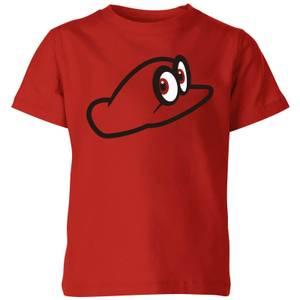 Camiseta Nintendo Super Mario Odyssey Cappy - Niño - Rojo