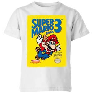 T-Shirt Nintendo Super Mario Bros 3 - Bianco - Bambini