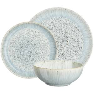 Denby Halo Speckle 12 Piece Coupe Set