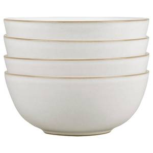 Denby Natural Canvas 4 Piece Cereal Bowl Set