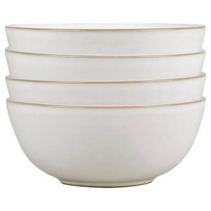 Denby Natural Canvas 4 Piece Cereal Bowl Set