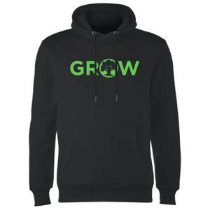 Sweat à Capuche Grow - Noir