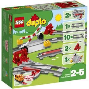 LEGO DUPLO Town : Les rails de train (10882)