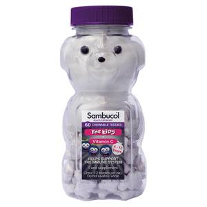 Kids' Teddies de Sambucol - 60 Comprimidos