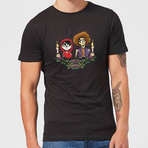 Coco Miguel And Hector Men's T-Shirt - Black